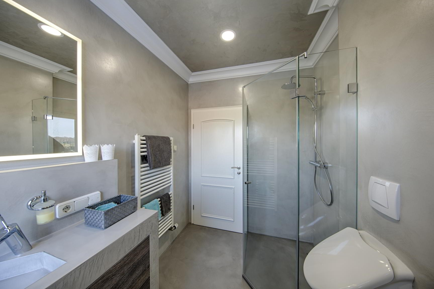 Microcement Bathroom